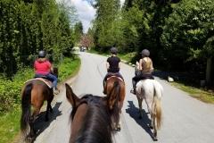 Riding to Greg Moore Trailhead