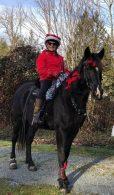 Haney Horsemen member dressed for Xmas